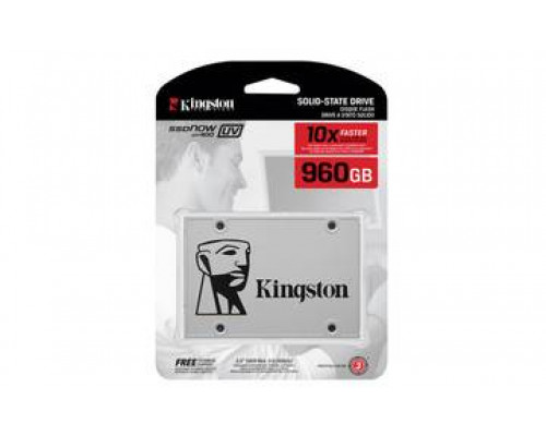 """Твердотельный диск 960GB Kingston SSDNow UV400, 2.5"""", SATA III, TLC [R/W - 550/500 MB/s]"""